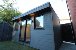 Smart Grey Garden Office