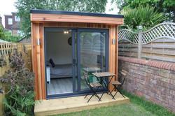 Narrow Garden Room