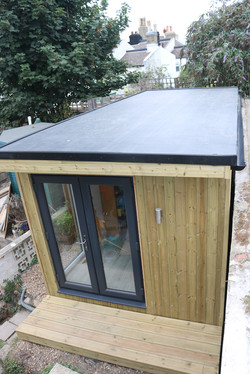 Angled Garden Room Workshop