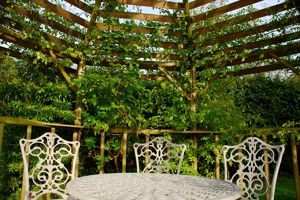 Hexagonal Slatted Gazebo Sussex