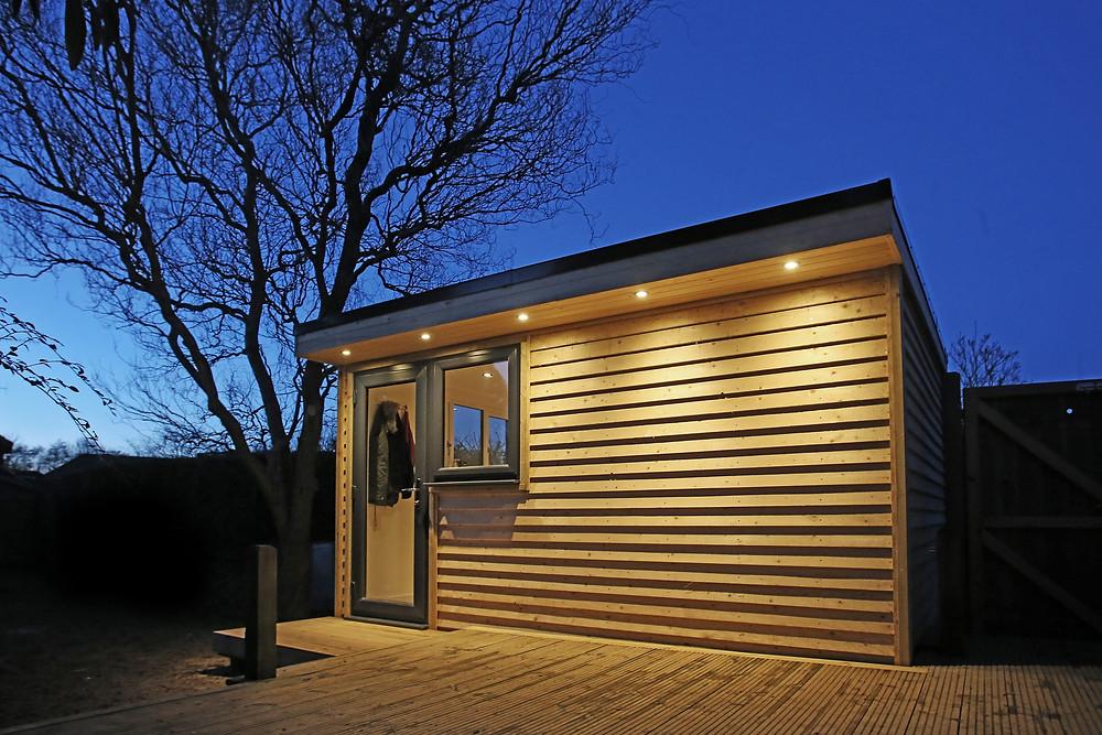 Insulated Garden Room Sussex