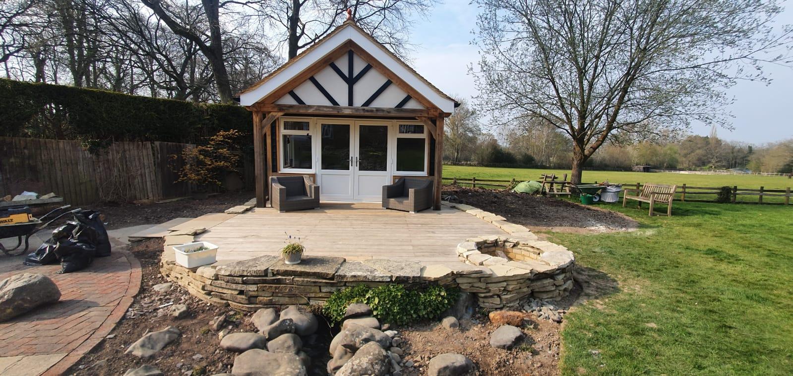 Mock Tudor Garden Room