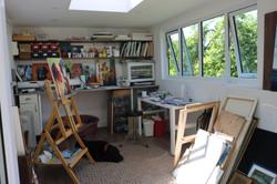 Painting Studio in the Garden