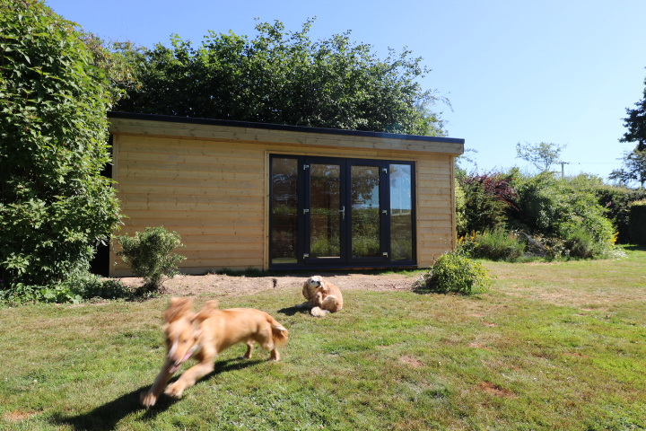 Garden Office for Local Business
