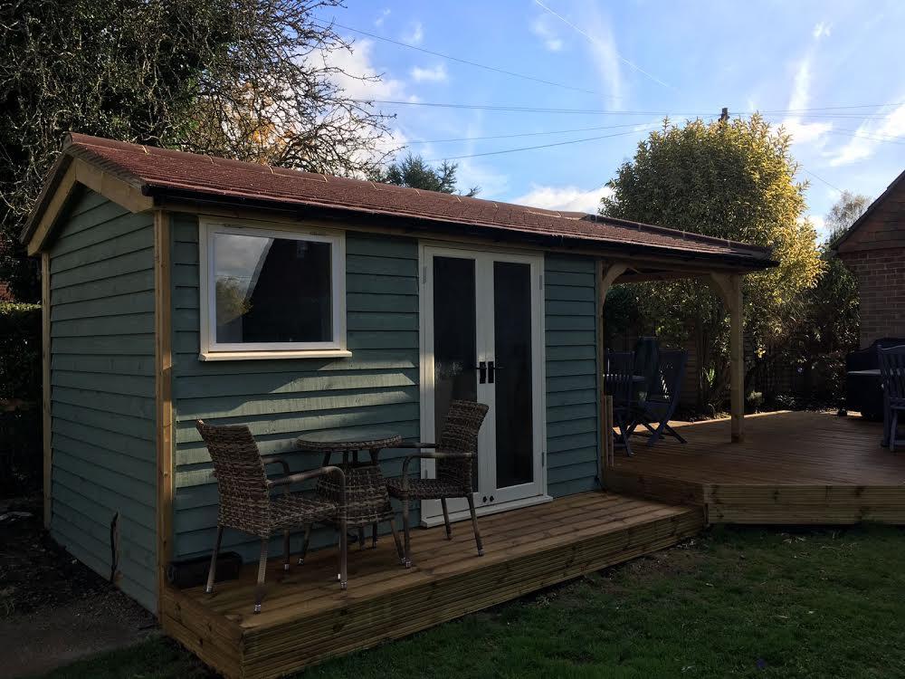 Garden Cabin Retreat