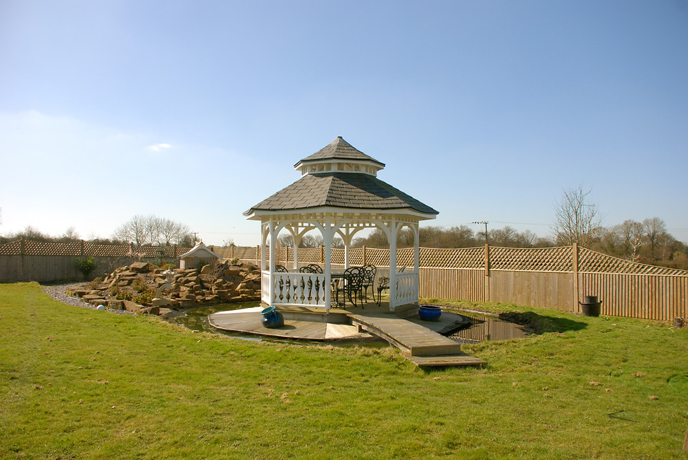 Victorian Bandstand Gazebo Sussex