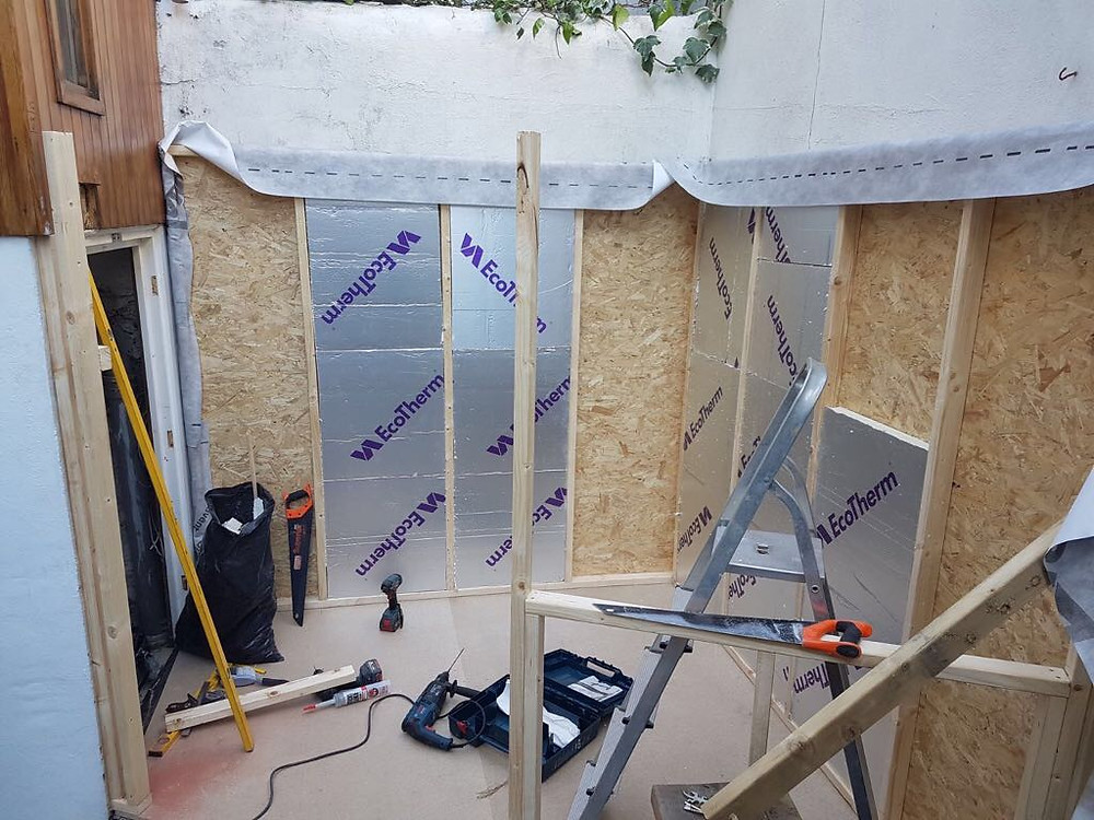 Ecotherm in Garden Room Extension