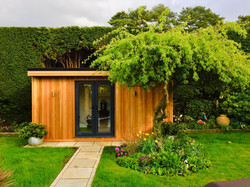 A Garden Room for Relaxation