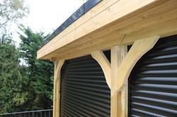Summerhouse Gazebo with Rollerdoors