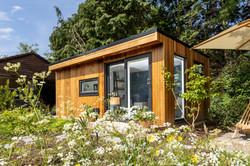 Cedar Office with Side Storage
