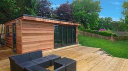 Large Cedar Garden Office