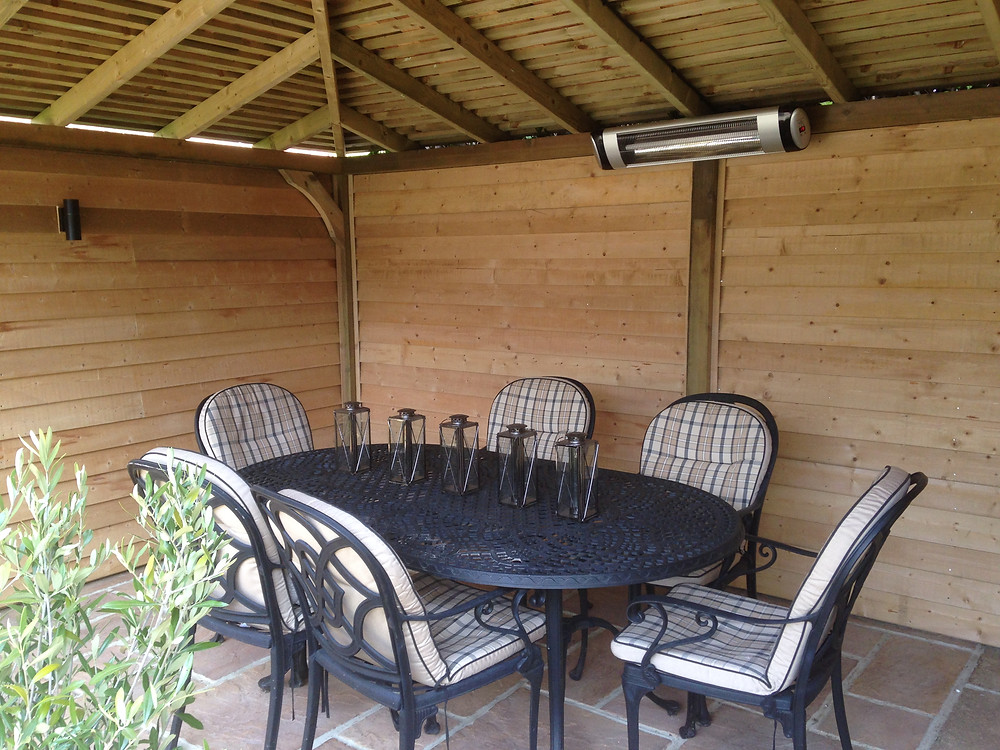 Gazebo with Adjoining Shed Sussex