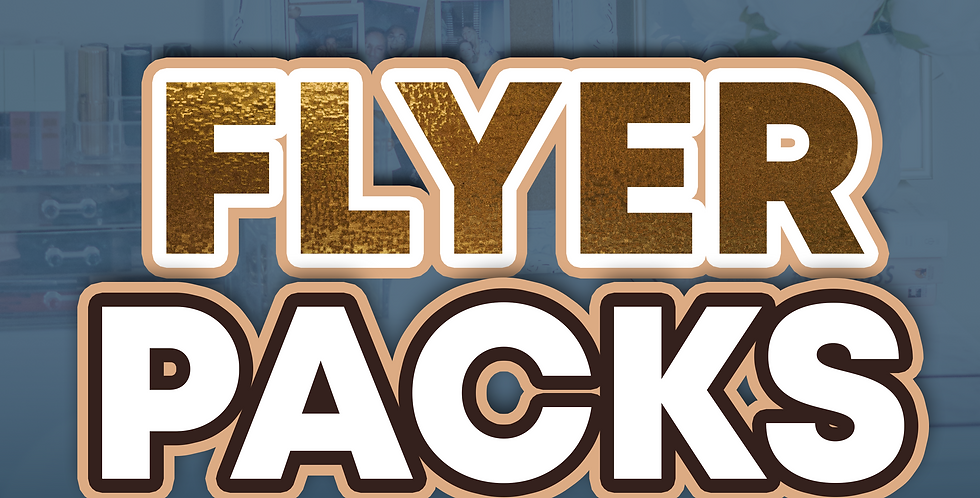 Pack of Digital Flyers