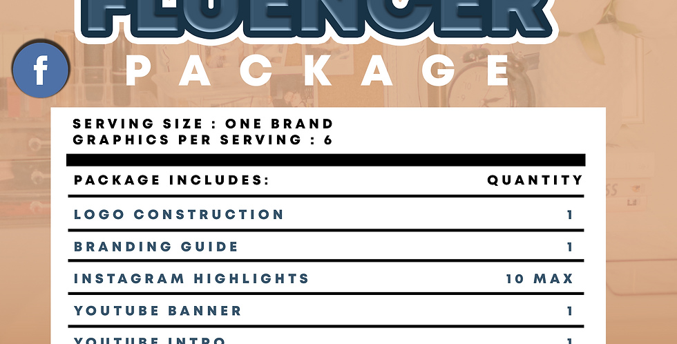 Influencer Package