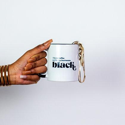 """Hella Black"" In this Mug"