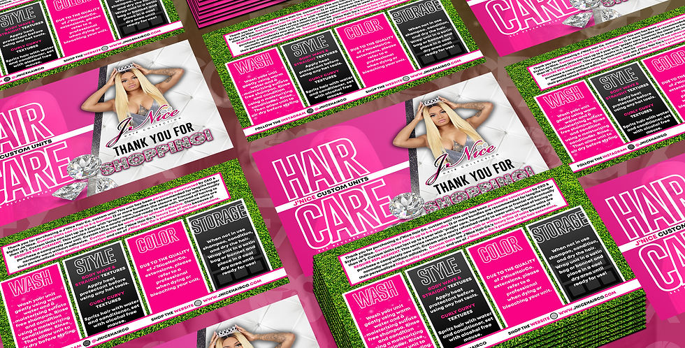 Hair Care Mailers