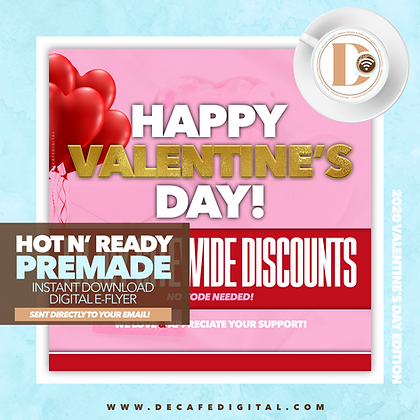 Sitewide Sale V-Day Gold