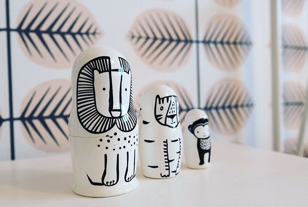 How cute is this little set of quirky wo