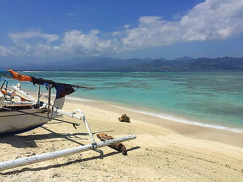 Getting away from it on the Gili Islands