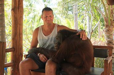 Lombok Elephant park Orangutan fun