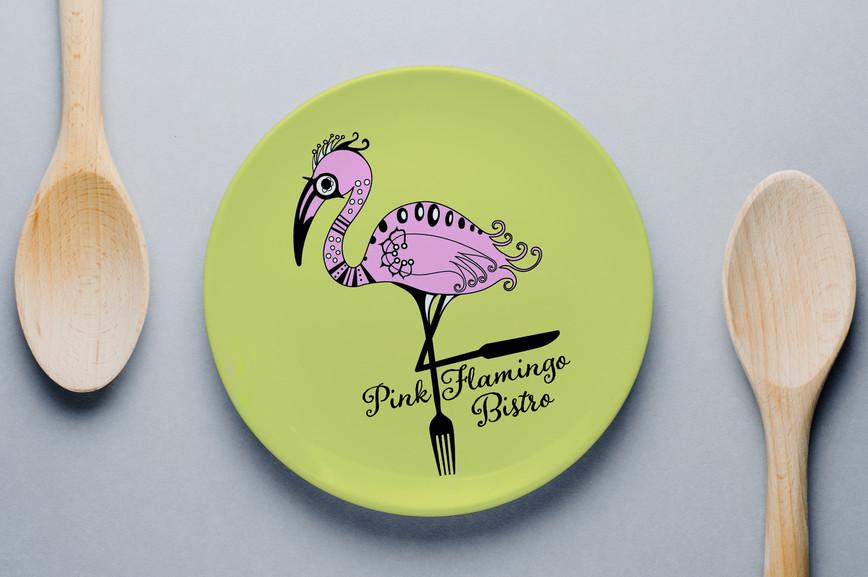 Pink Flamingo Bistro Logo