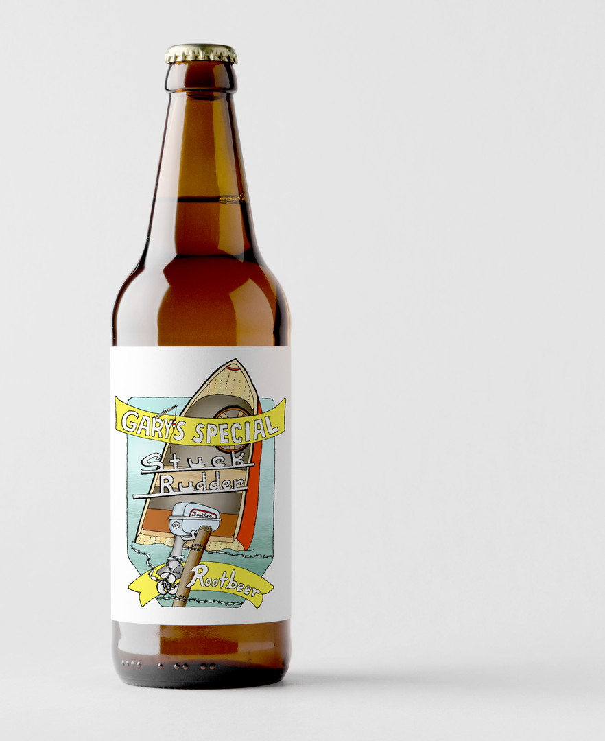 Gary's Special Stuck Rudder Rootbeer