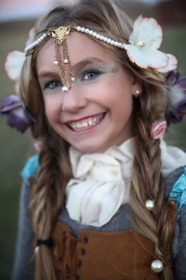 Wood Fairy Girl