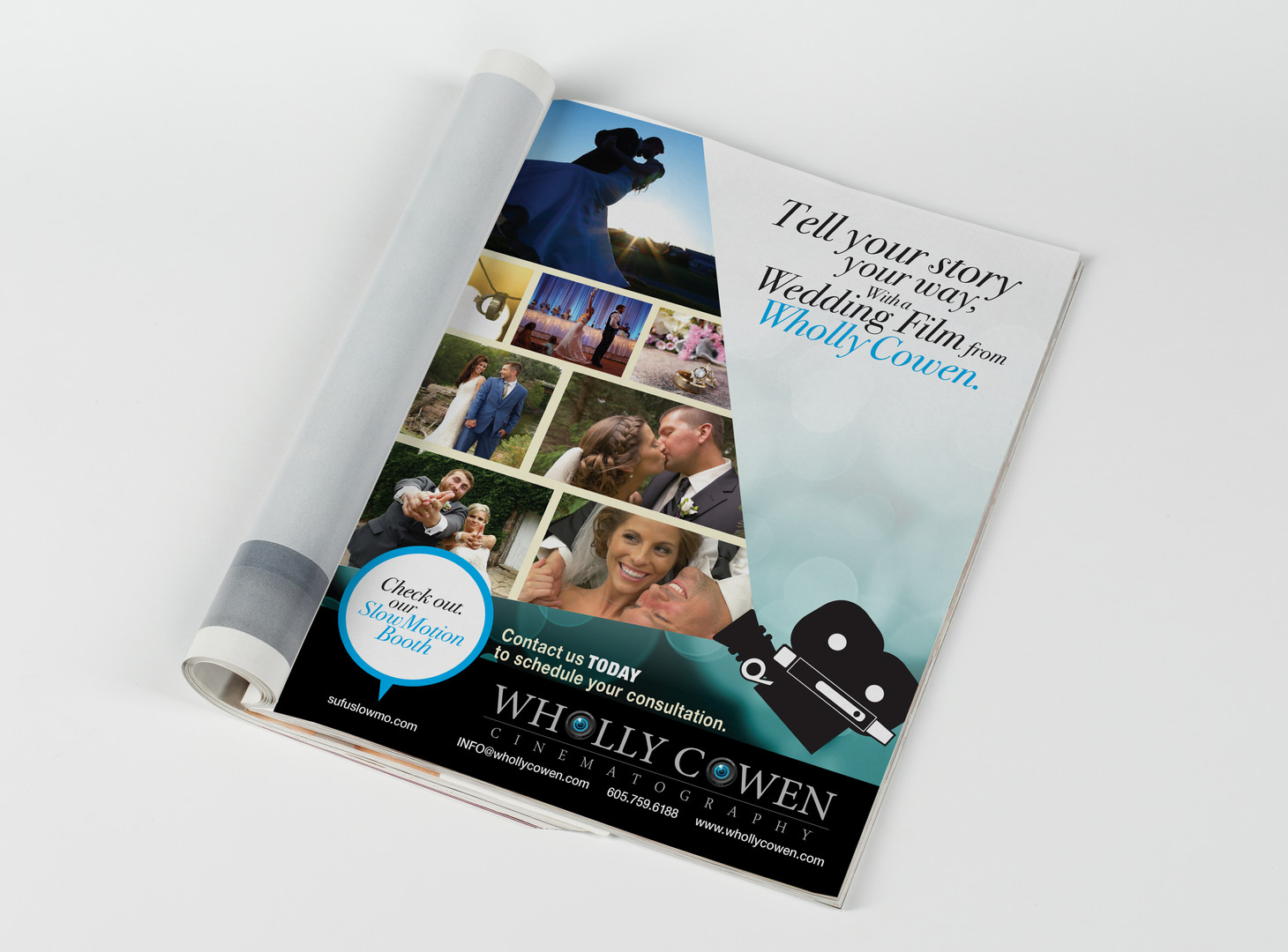 Wholly Cowen Full Page Magazine Ad