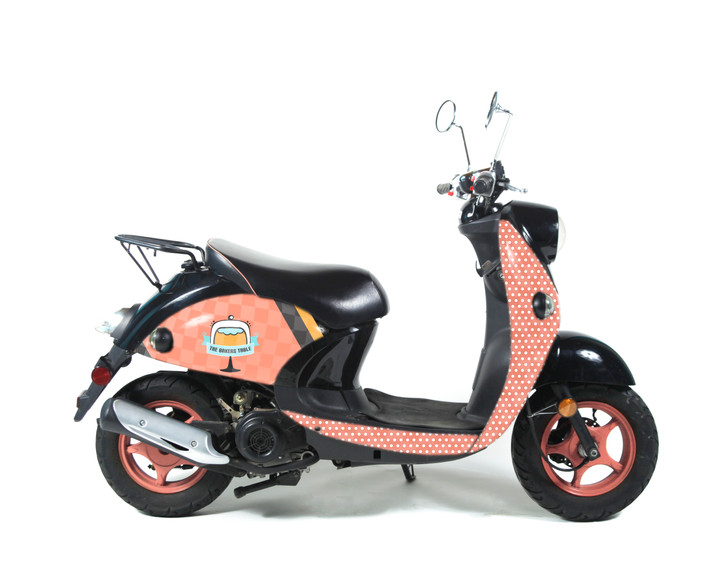 The Bakers Table Vespa Wrap