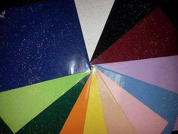 натяжные потолки галактика, потолки с блестками