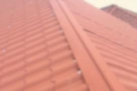 Entreprise de Couverture Couvreur Refection d'une toiture en tole imitation tuile en Hainaut, Bruxelles, Mons, Charleroi, Namur, Wavre, Nivelles, Liège...