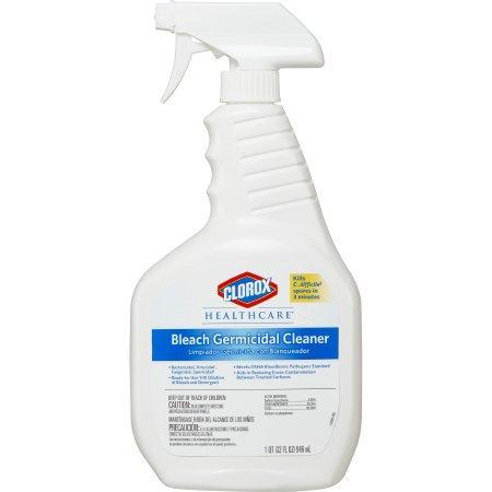 Clorox Healthcare® Bleach Germicidal Cleaner, 22 oz.