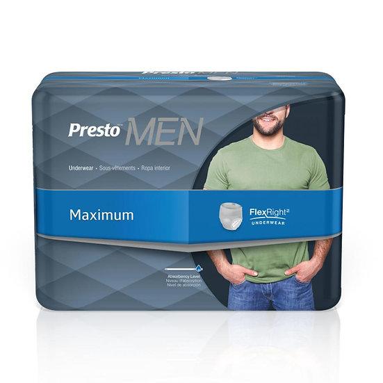 Presto Maximum FlexRight ® Underwear for Men