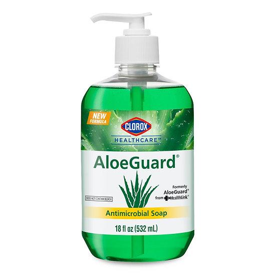 Chlorox AloeGuard Antimicrobial Soap 18 oz.