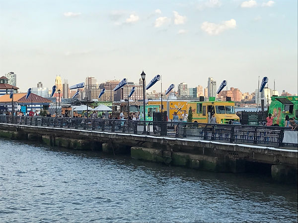 FoodTruck at Pier 13 in Hoboken NJ