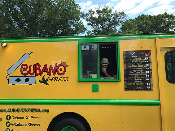 Cubano X Press Food truck in New Jersey