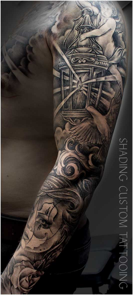 Tattoo tatoeage sleeve