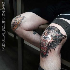 Shading custom tattooing - Berkel en Rodenrijs