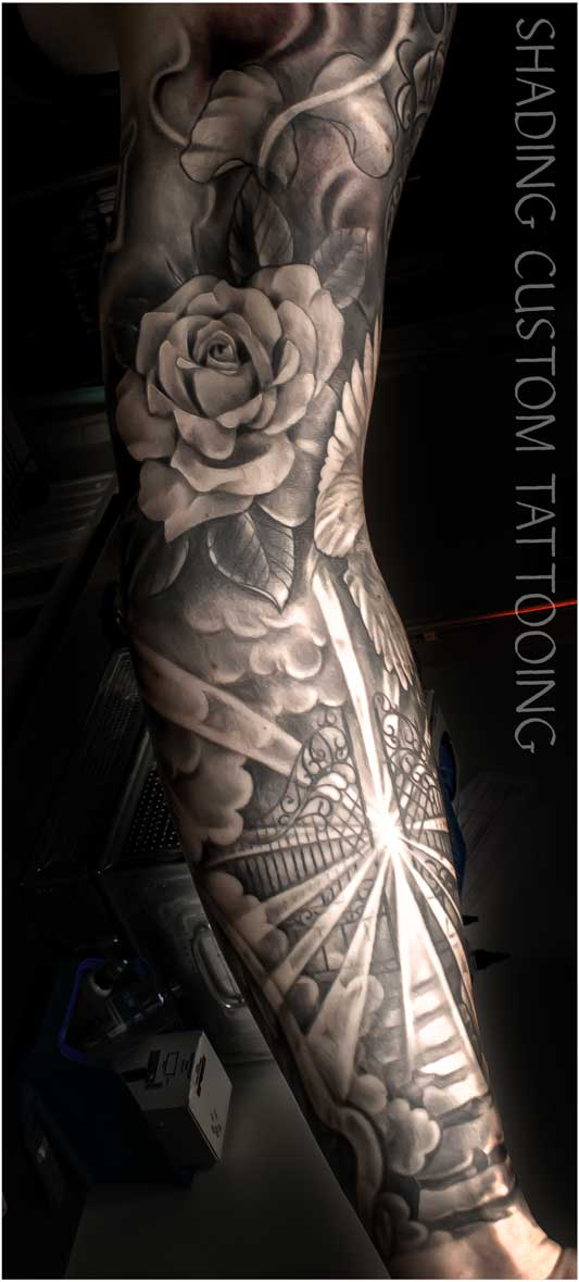 Tattoo - Tatoeage sleeve