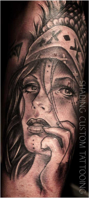 Tattoo - Tatoeage indiaan