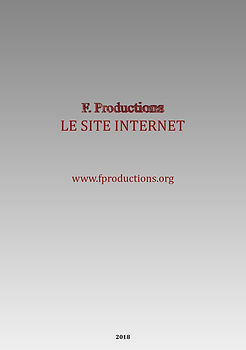 Le Site Internet F. Productions