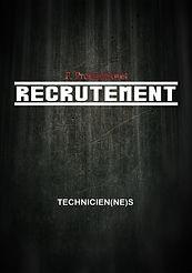 Recrutement (Techniciens)