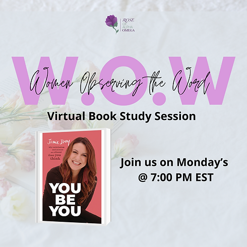 W.O.W- Women Observing the Word Book Study