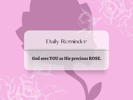 We are His Rose 🌹