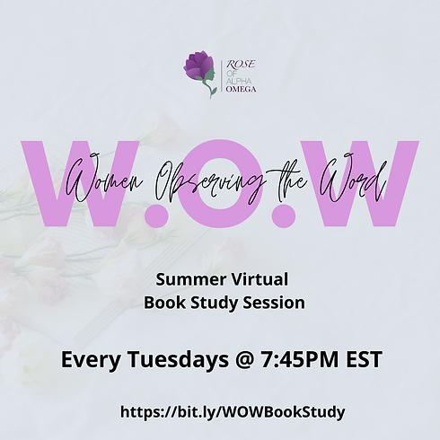W.O.W- Women Observing the Word Study
