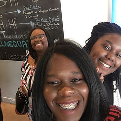 Having a great time with my mentees. Suc