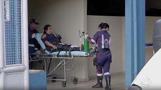 16 pessoas passam mal após vazamento de gás amônia em frigorifico de Farroupilha