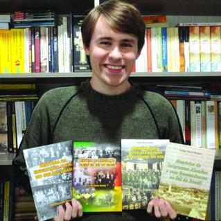 Felipe Kuhn Braun lança seu 15º livro sobre a colonização alemã na região