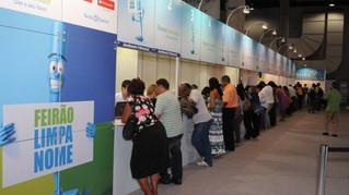 Feirão Limpa Nome da Serasa permite que os consumidores renegociem as dívidas em atraso