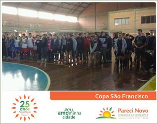 Copa São Francisco de futsal em Pareci Novo